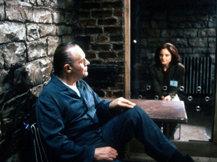 《沉默的羔羊》安東尼霍普金斯與茱蒂佛斯特。