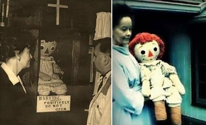《安娜貝爾回家囉》出現的娃娃正是以真實世界的安娜貝爾。