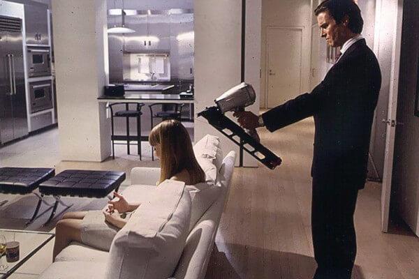 《美國殺人魔》電影劇照。