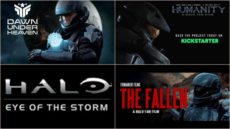 《最後一戰》系列有許多粉絲自製電影。