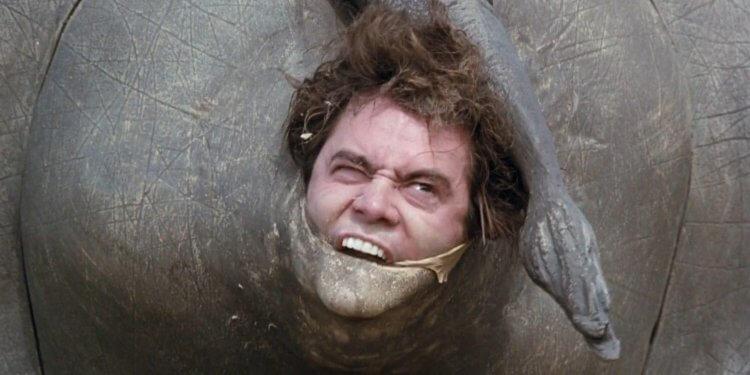 《王牌威龍2:非洲大瘋狂》金凱瑞。