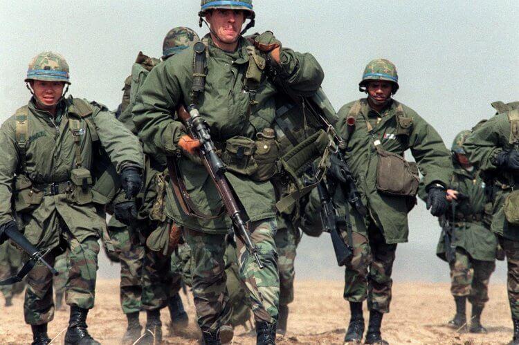 80 年代初期的美國陸軍。
