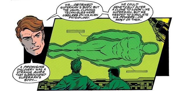 超人的防護罩,這解釋了超人的披風如何刀槍不入。