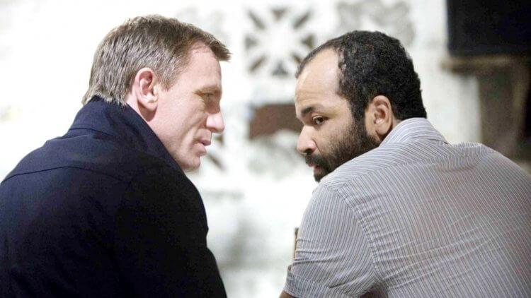《007:量子危機》萊特與龐德。