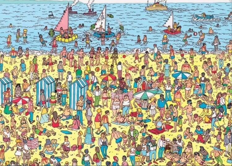 《威利在哪裡》梗圖:「伯尼」在哪裡?