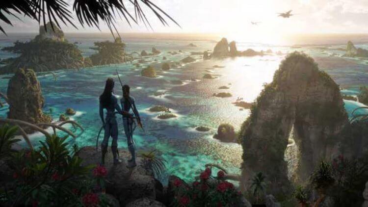 《阿凡達 2》納美人世界絕景公開!新電影美術概念圖曝光,一睹潘朵拉星壯麗景色首圖