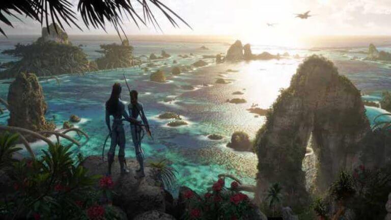 《阿凡達 2》納美人世界絕景公開!新電影美術概念圖曝光,一睹潘朵拉星壯麗景色