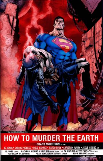 在 DC 漫畫《Final Crisis》中,蝙蝠俠為了擊敗反派達克賽德而犧牲自己的性命。