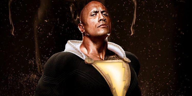 巨石強森扮演《黑亞當》 (Black Adam)
