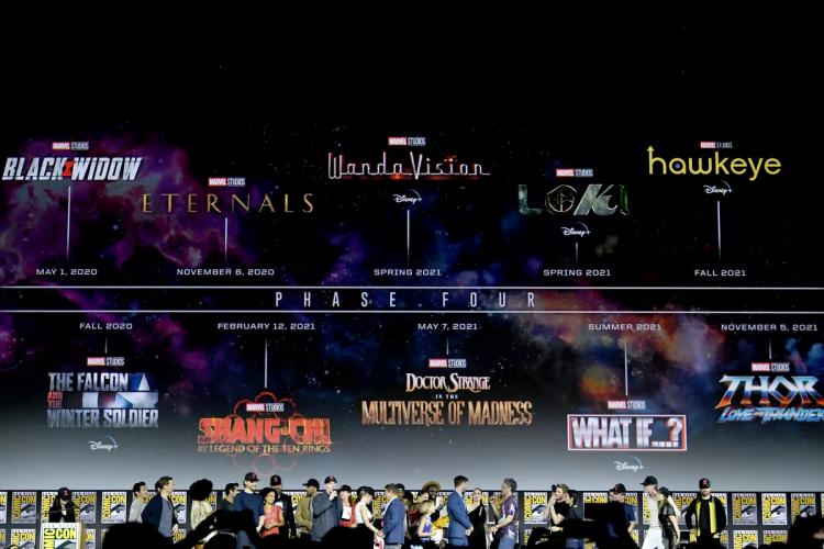 自《終局之戰》後,漫威正如火如荼地展開 MCU 「第四階段」計畫。