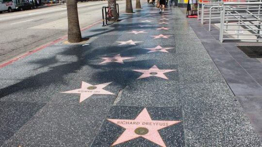 好萊塢的星光大道 (Hollywood Walk of Fame)