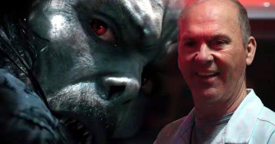 米高基頓(Michael Keaton) 飾演的禿鷹 (Vulture) 在《魔比斯》(Morbius) 現身