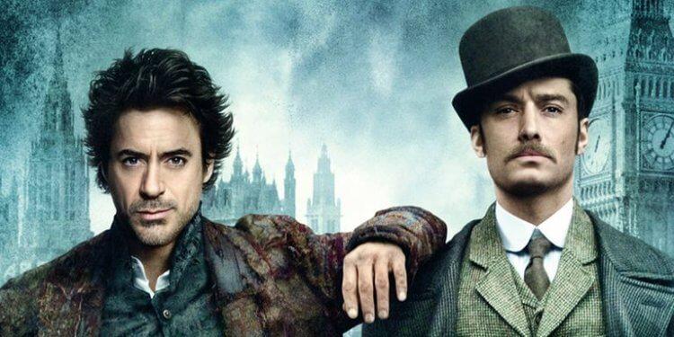 2009 年電影《福爾摩斯》主視覺。