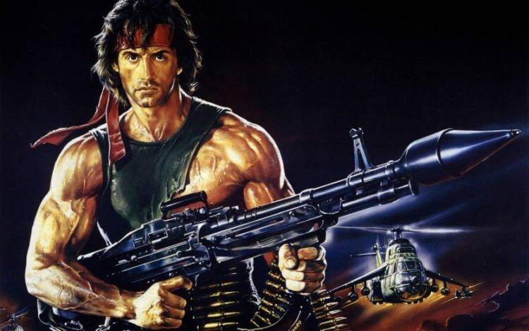 接續藍波的高人氣,「第一滴血2」電影《第一滴血續集》(Rambo: First Blood Part II) 推出後也帶動同名遊戲登場。