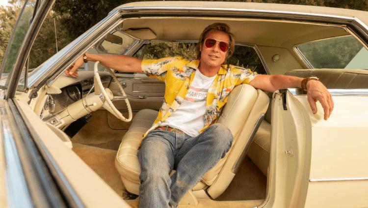 布萊德彼特 (Brad Pitt) 在《從前,有個好萊塢》中飾演特技演員布茲。