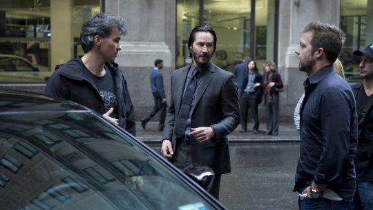 《捍衛任務》(John Wick) 拍攝花絮。