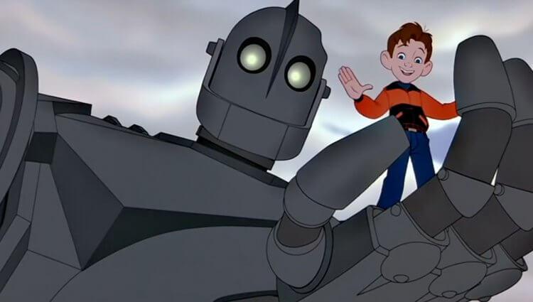 《鐵巨人》(The Iron Giant) 劇照。