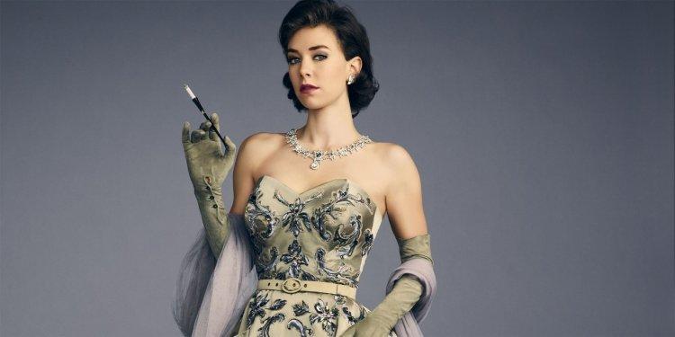 凡妮莎柯比於 Netflix 影集《王冠》(The Crown) 中飾演的瑪格麗特公主樣貌。
