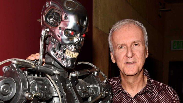 一手打造阿諾賣座電影《魔鬼終結者》超過 30 年的好萊塢大導:詹姆斯卡麥隆。