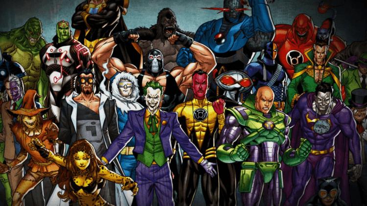 除了《蝙蝠俠》裡的小丑之外,DC 漫畫還有許多反派角色。