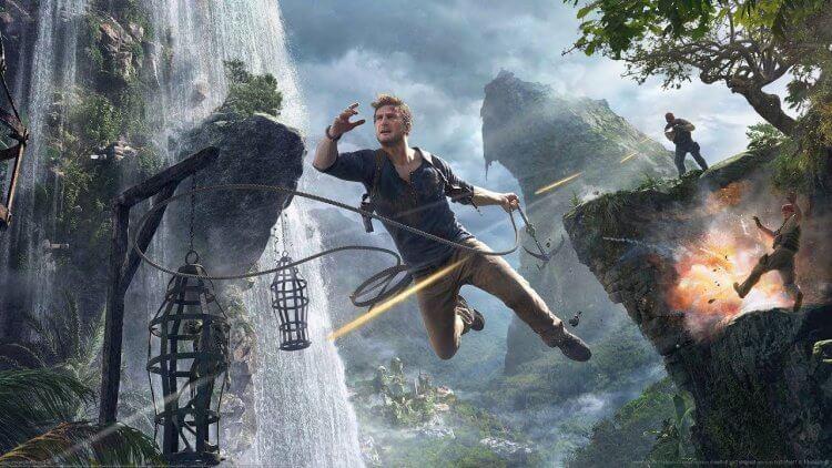 《秘境探險》電影將會參照遊戲《秘境探險 4:盜賊末路》的許多動作元素。