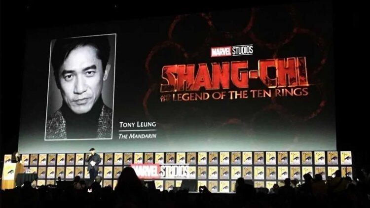 梁朝偉將在電影《上氣與十環幫傳奇》中飾演「滿大人」。