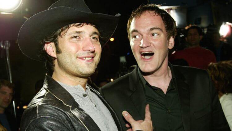 昆汀與他的好友羅勃羅德里茲。