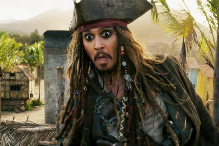 強尼戴普 (Johnny Depp) 因《神鬼奇航》系列再次登上巔峰
