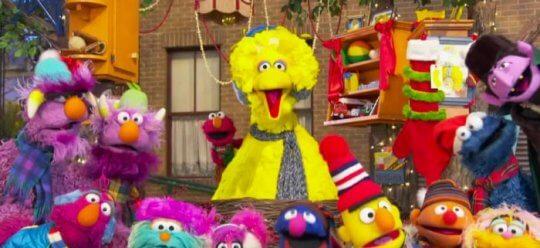 美國兒童教育節目《芝麻街》布偶們。