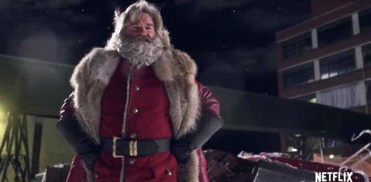 《聖誕急救隊》電影劇照。