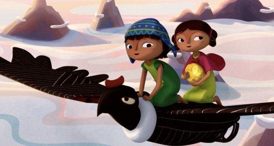 法國動畫電影《帕查瑪瑪》劇照。