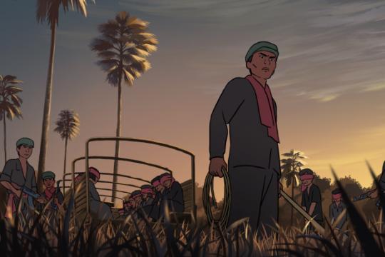 柬埔寨動畫電影《戰火扶南》