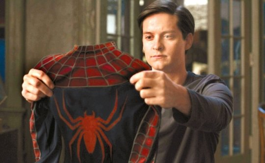 陶比飾演的蜘蛛人