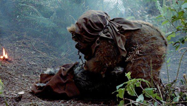 伊娃族 (Ewok) 被戰爭波及
