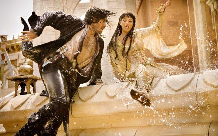 由傑克葛倫霍、潔瑪雅特頓主演的 2009 年電影《波斯王子:時之刃》。