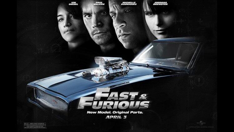 由保羅沃克、馮迪索主演的街頭飆車動作電影《玩命關頭 4》。