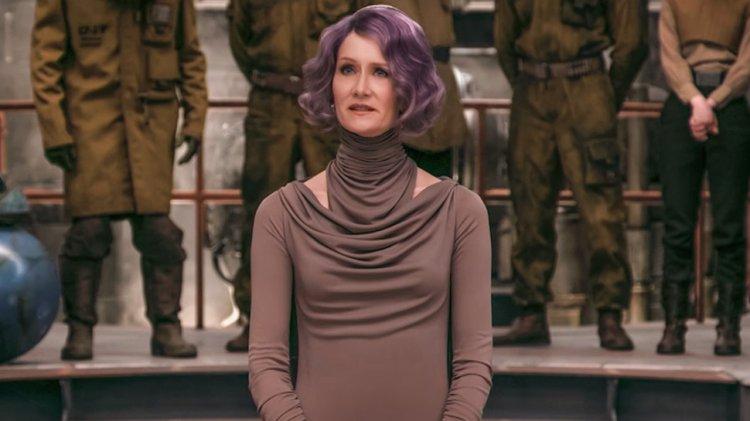 《STAR WARS:最後的絕地武士》艾米琳何朵 (Amilyn Holdo)