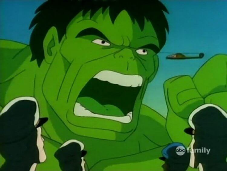 《無敵浩克》(The Incredible Hulk) 電視卡通