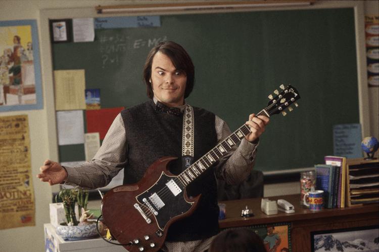 《搖滾教室》傑克布萊克,除了演戲之外,他其實也是一位歌手。