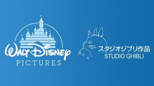 迪士尼、吉卜力工作室的 Logo。