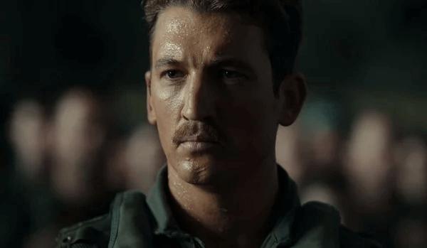 《捍衛戰士 2:獨行俠》(Top Gun: Maverick) 電影預告劇照。