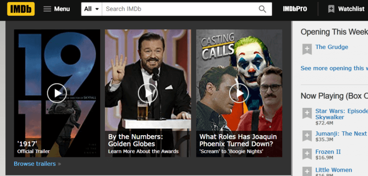 國外網友最常使用的電影資訊站之一:網際網路電影資料庫 IMDb 公布了 2019 年度 10 大新星十大最佳突破演出演員名單。