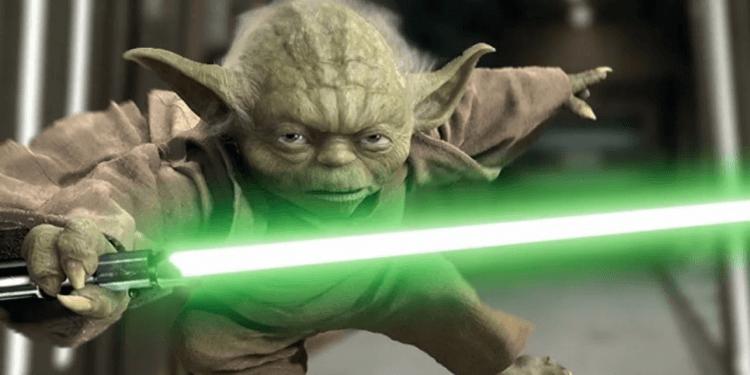 《星際大戰》(Star Wars) 中的虛擬角色尤達