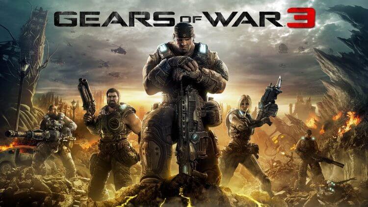 電玩遊戲《戰爭機器》(Gears of War) 銷售驚人。