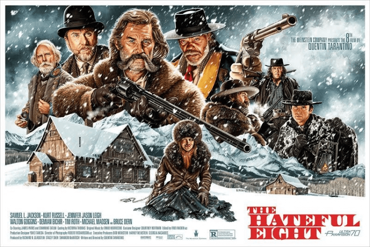 昆汀電影雖叫好但多不太賣座,入圍多項奧斯卡獎項的《八惡人》也不例外,在台票房成績並不搶眼