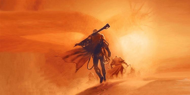 《沙丘魔堡》小說插畫。