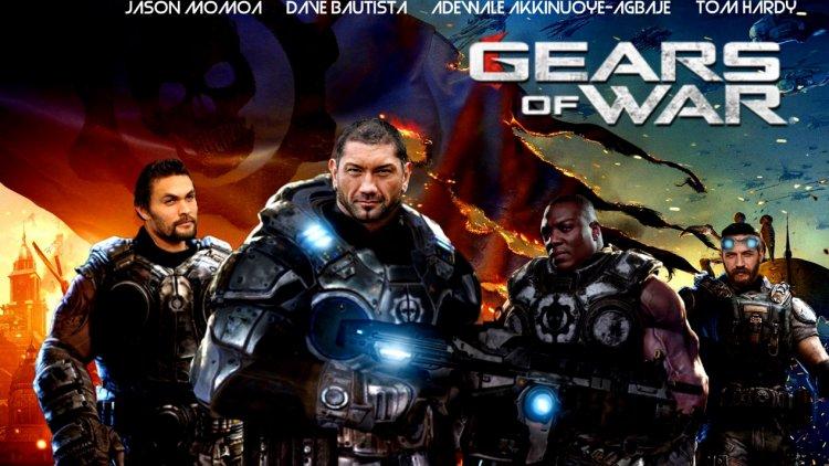 聽聞遊戲《戰爭機器》將改編真人電影,網友創意將傑森摩莫亞、巴帝斯塔等大肌肌影星給做成了海報。