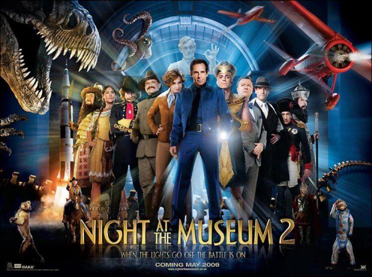 薛恩李維執導的《博物館驚魂夜 2》是 2006 年《博物館驚魂夜》的續集。
