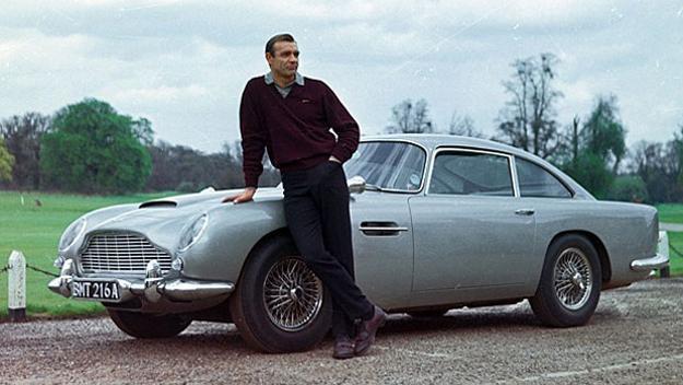 奧斯頓馬丁 DB5 在康納萊飾演 007 詹姆士龐德的時候第一次出現。