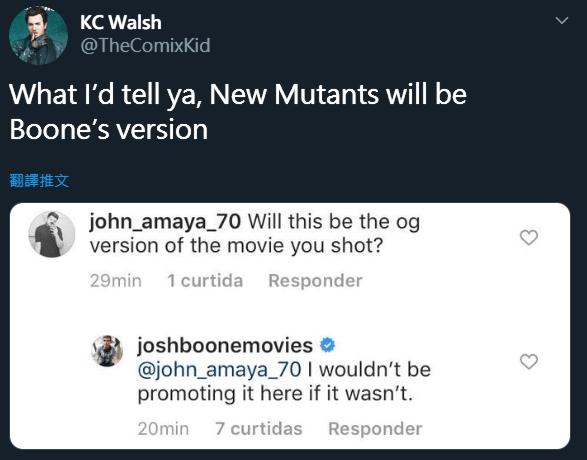 《變種人》並非外界所期望的 R 級,喬許布恩也在推特上澄清最終版本是由他本人所製作。